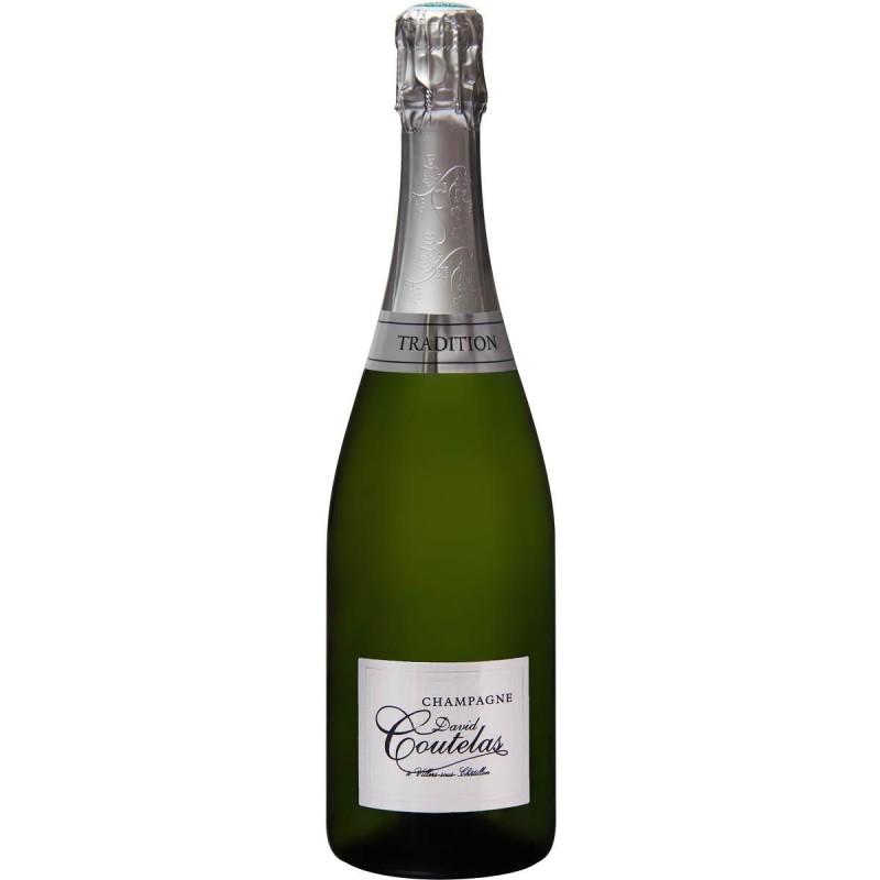 Bouteille champagne David Coutelas Demi-sec