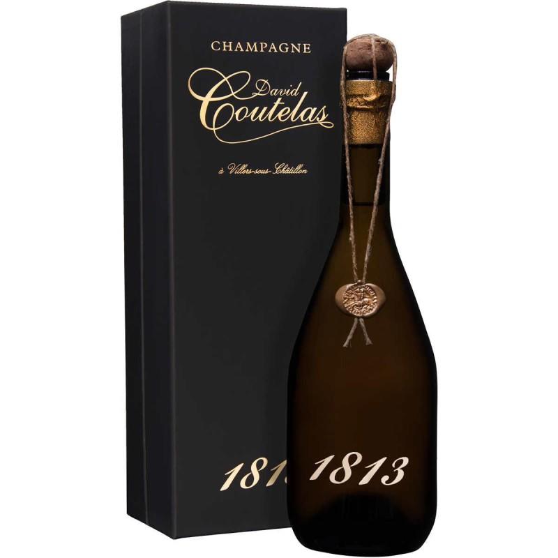 Bouteille champagne David Coutelas cuvée 1813