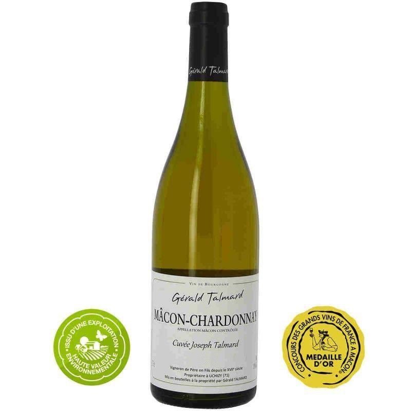 Vin blanc Mâcon-Chardonnay Gerald TALMARD cuvée Joseph TALMARD 2019