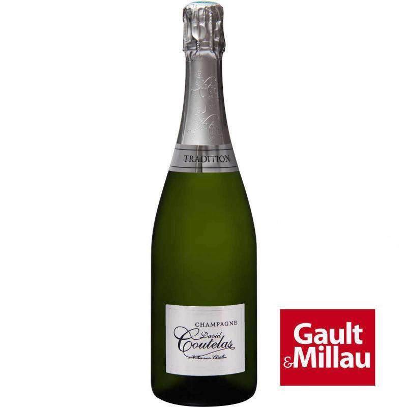 Bouteille champagne David Coutelas Brut Tradition