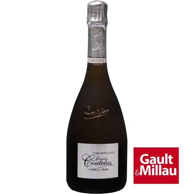 Bouteille champagne David Coutelas Prestige brut