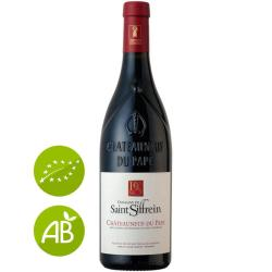 Vin rouge bio Domaine Saint SIFFREIN Châteauneuf-du-Pape 2017