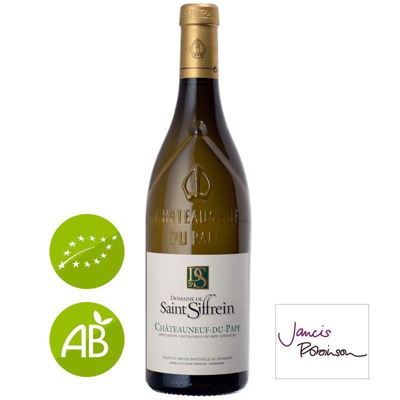 Vin blanc bio Châteauneuf-du-Pape Domaine Saint SIFFREIN 2017