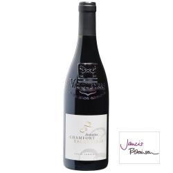 Vin rouge Vacqueyras Domaine CHAMFORT Côtes du Rhône villages 2017