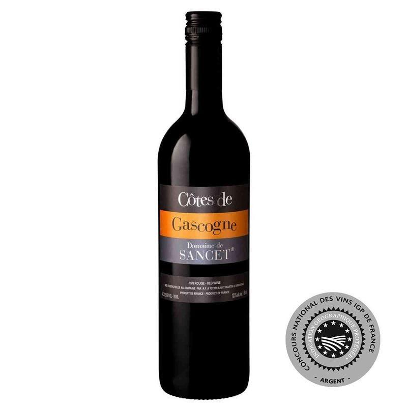 Vin rouge Domaine de SANCET Côtes de Gascogne 2016