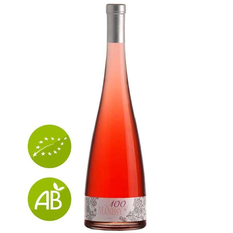 Vin rosé bio Château de Manissy cuvée Centenaire TAVEL 2015