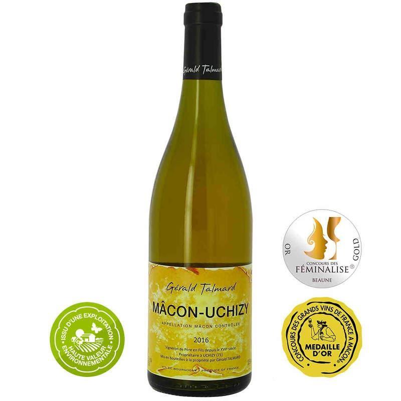 Vin blanc Mâcon-Uchizy Domaine Gérald TALMARD 2019
