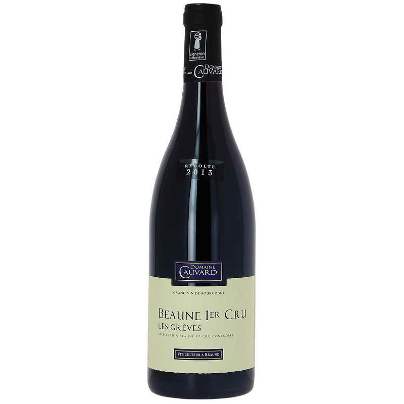 Vin rouge Beaune 1er cru Domaine CAUVARD Les grèves 2013