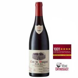 Vin rouge Clos de Vougeot Grand cru Domaine Henri REBOURSEAU 2000