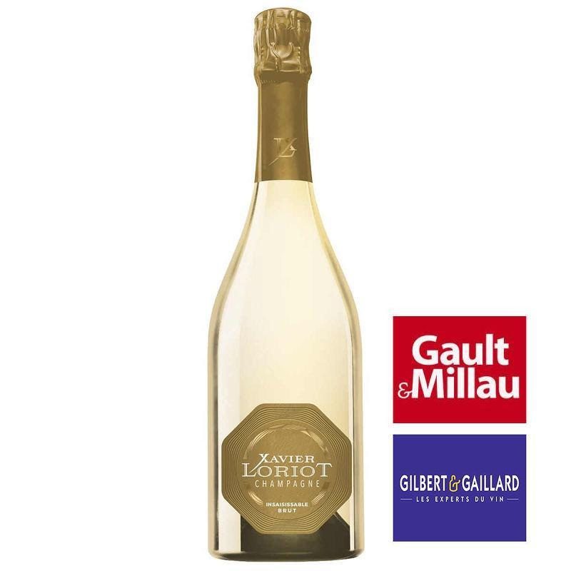 Champagne Insaisissable brut Xavier LORIOT 100% chardonnay
