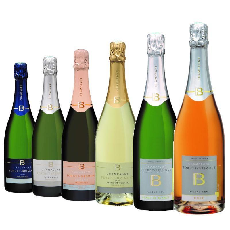 Offre découverte : 6 bouteilles champagne Forget-Brimont