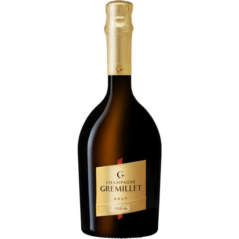 bouteille champagne Gremillet brut millésime 2015