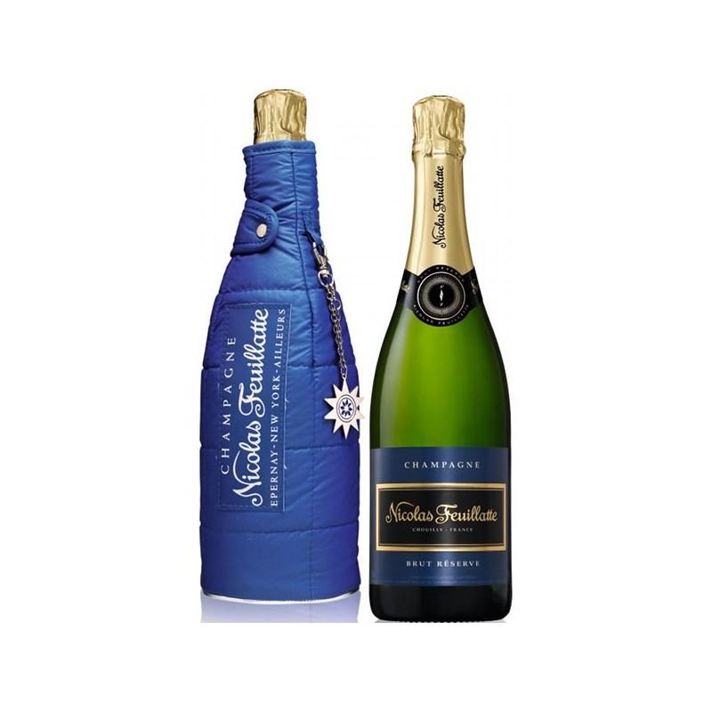 Nicolas FEUILLATTE Chardonnay 2005 et sa doudoune