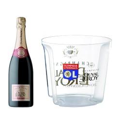 6 bouteilles Premier Cru Duval-Leroy + 1 seau Olympique Lyonnais
