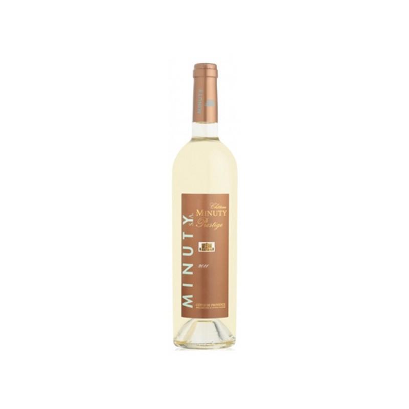 Vin blanc Côtes de Provence Minuty Cuvée Prestige 2012