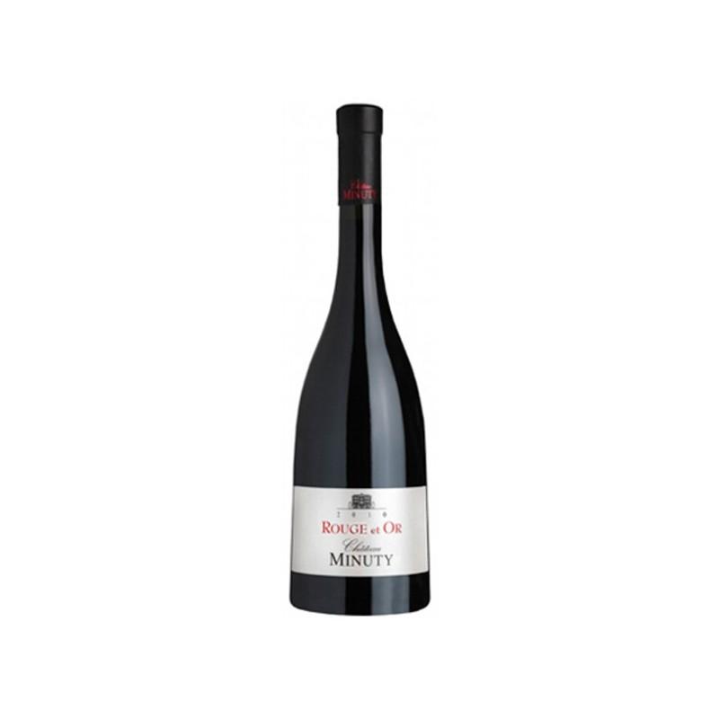 Vin rouge Côtes de Provence Minuty Cuvée Rouge et Or 2010/11