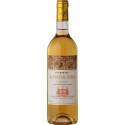 Vin Blanc Moelleux AOC Loupiac Château LE PORTAIL ROUGE 2008