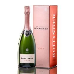 Champagne Bollinger Rosé brut avec étui