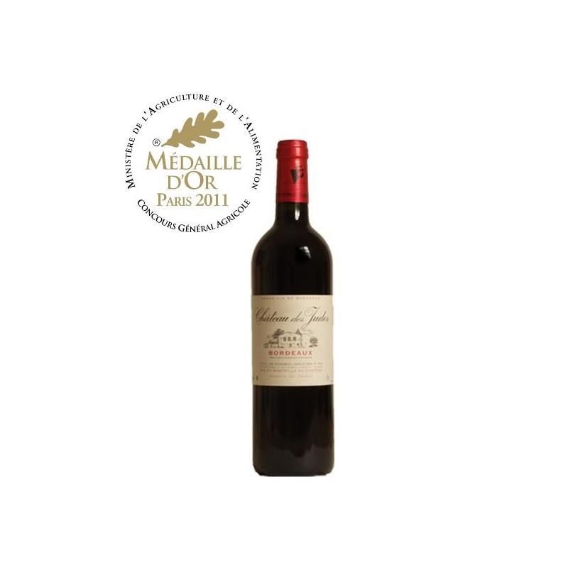 Vin Bordeaux rouge Château des Judes 2010