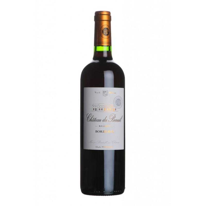 Vin Rouge AOC Bordeaux Château DU BARRAIL 2015