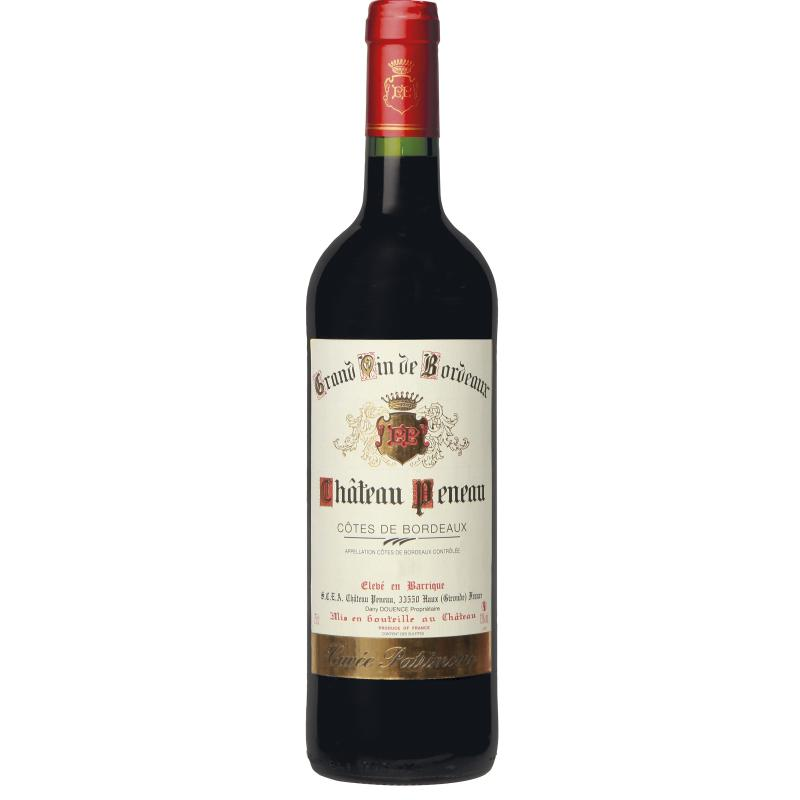 Côtes de Bordeaux Château PENEAU 2014 - Vin rouge AOC