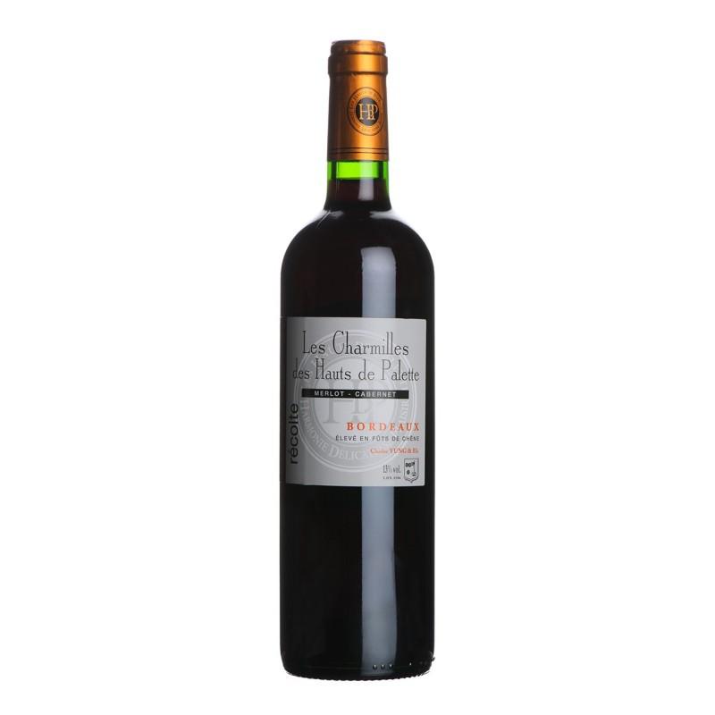 Bordeaux Château LES CHARMILLES DES HAUTS DE PALETTES 2012