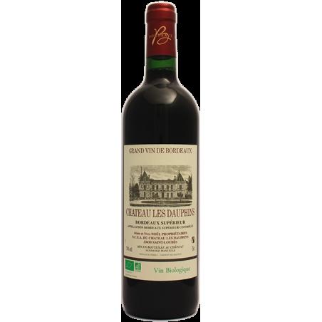 Bordeaux Supérieur Château LES DAUPHINS 2011 - Agriculture Bio certifiée Ecocert