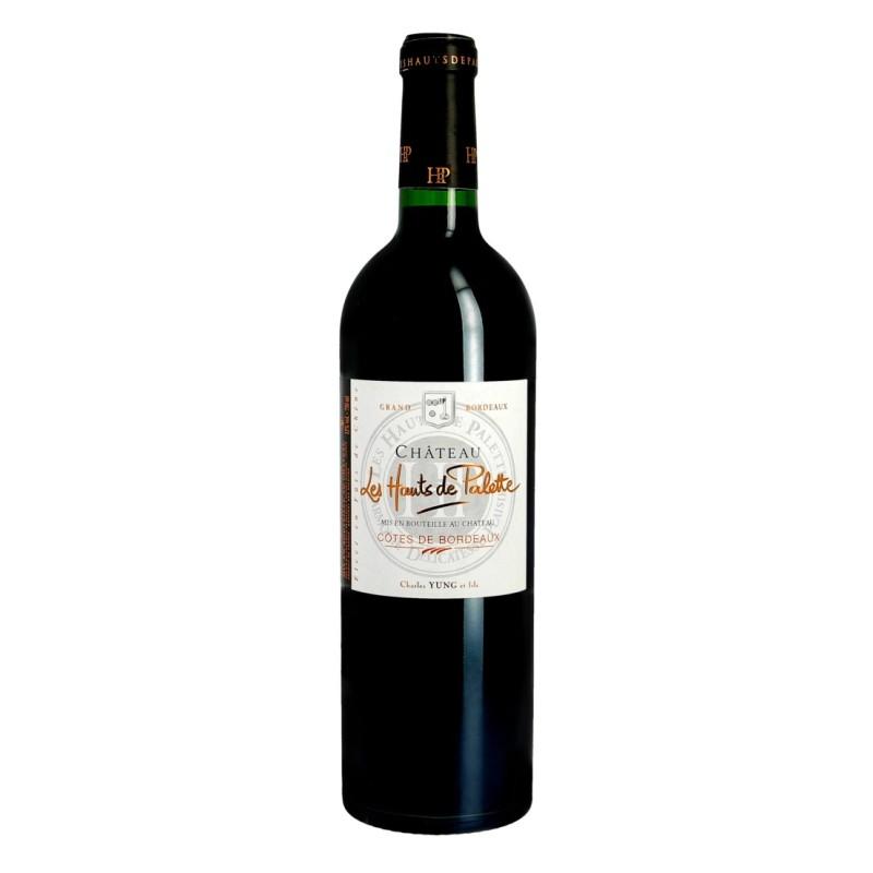 Côtes de Bordeaux Château LES HAUTS DE PALETTES 2011 - Vin rouge AOC