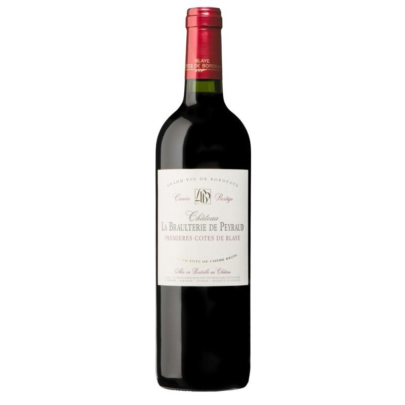 Premières Côtes de Blaye Château BRAULTERIE DE PEYRAUD 2012 - Vin Rouge