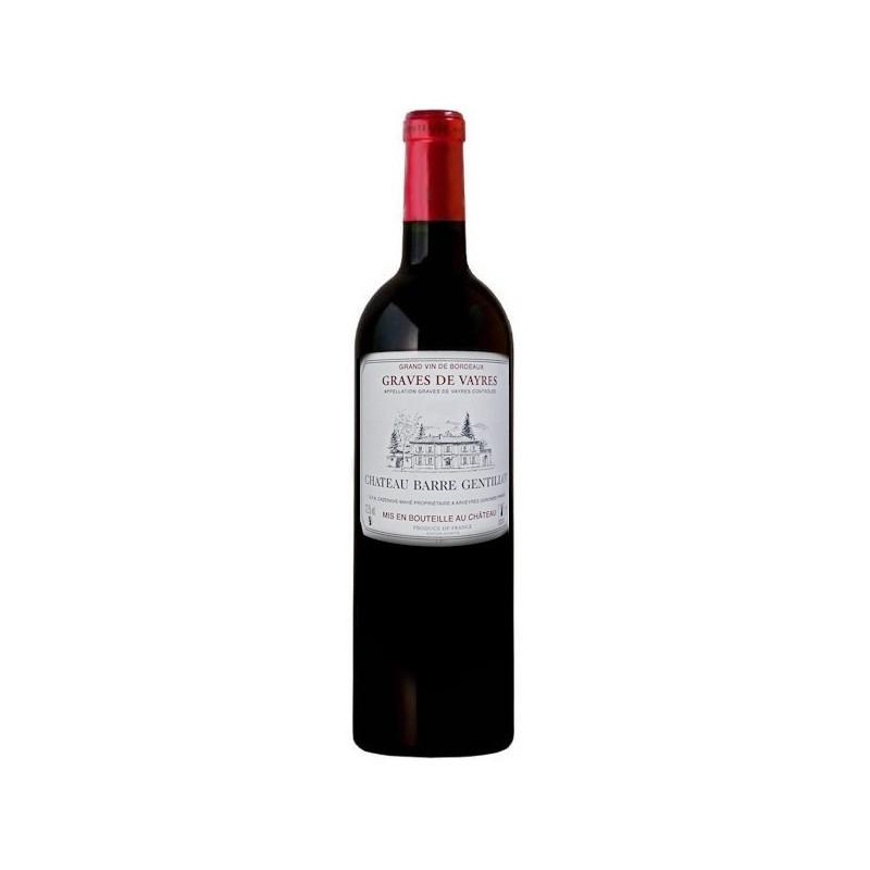 Vin Rouge AOC Graves de Vayres Château de BARRE-GENTILLOT 2008