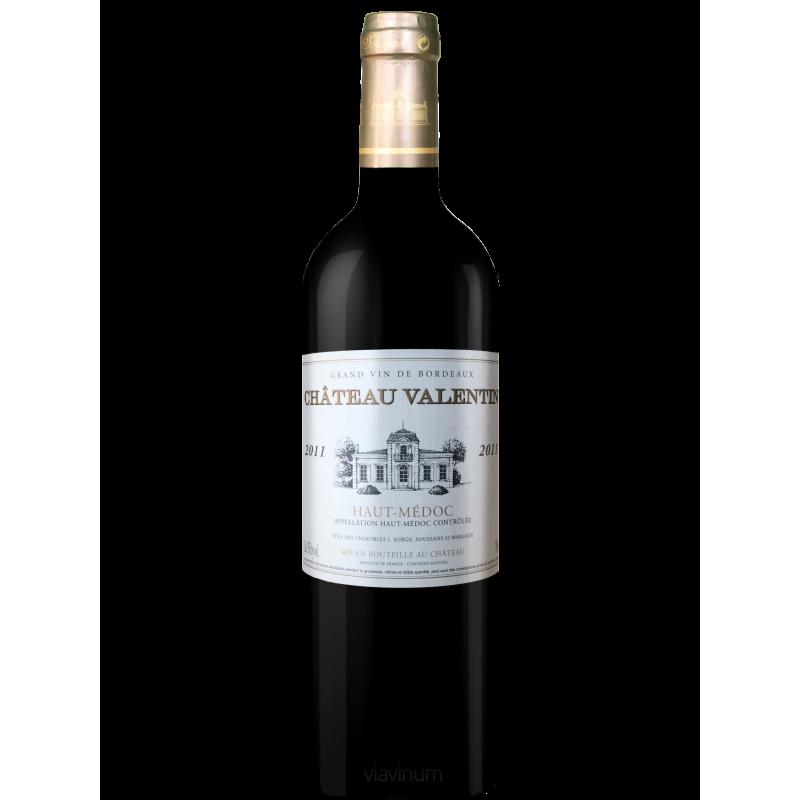 Haut-Médoc Château VALENTIN (cru bourgeois) 2011 - Vin Rouge AOC