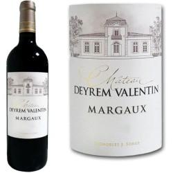 Vin Rouge AOC Margaux Château DEYREM-VALENTIN (cru bourgeois) 2009