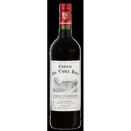 Lussac Saint-Emilion Château LES VIEUX ROCS 2012 - Vin Rouge AOC