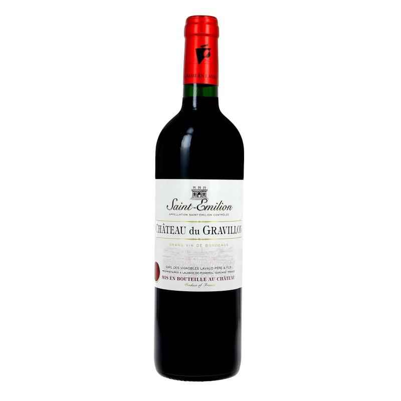 Saint-Émilion Château DU GRAVILLON 2015 - Vin Rouge AOC