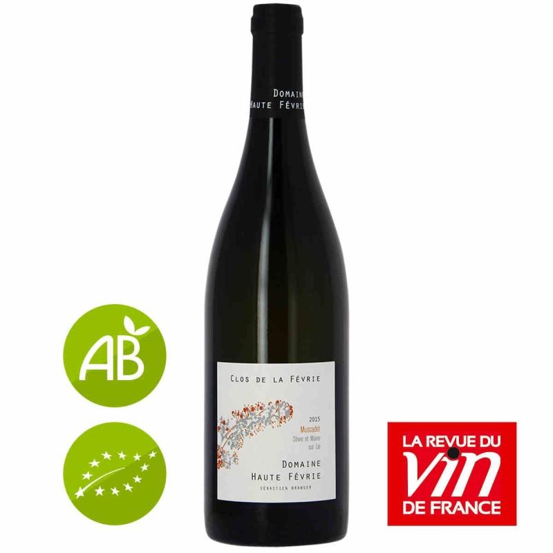 Vin blanc Domaine HAUTE FÉVRIE Clos de la Févrie MUSCADET 2015