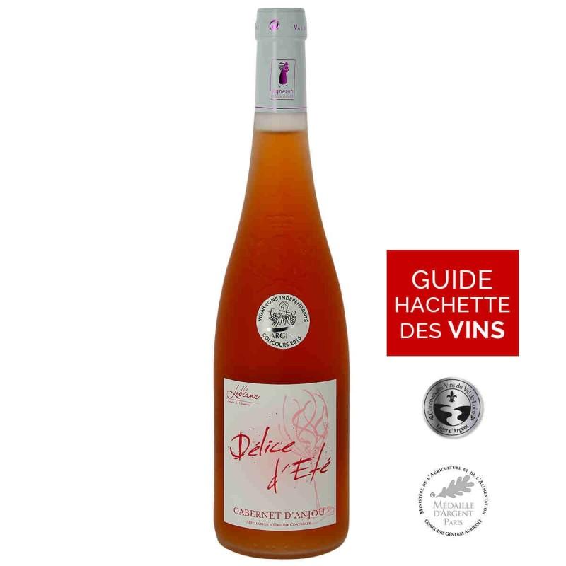 Vin rosé LEBLANC Les CLOSSERONS Délice d'été CABERNET D'ANJOU 2016