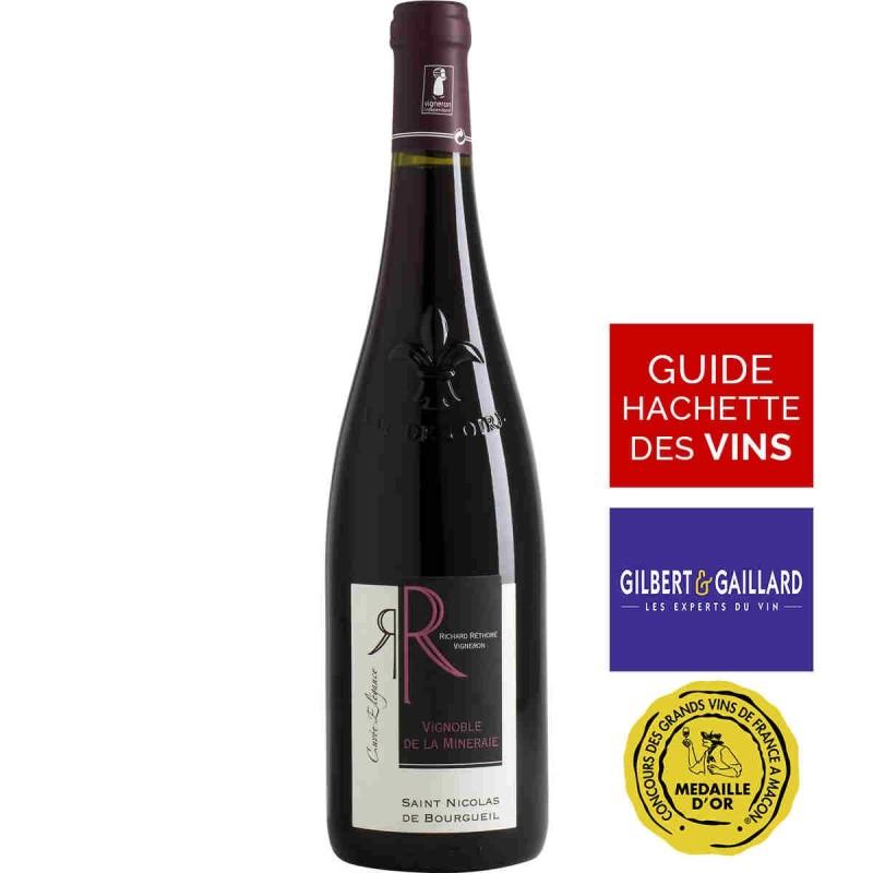 Vin rouge élégance Richard RÉTHORÉ Saint-Nicolas-de-Bourgueil 2015