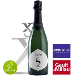 Champagne sans sulfite Xavier LORIOT cuvée 100S millésime 2013