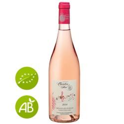 Rosé bio Domaine du Chardon Bleu Grignan-les-Adhémar Ritournelle 2016