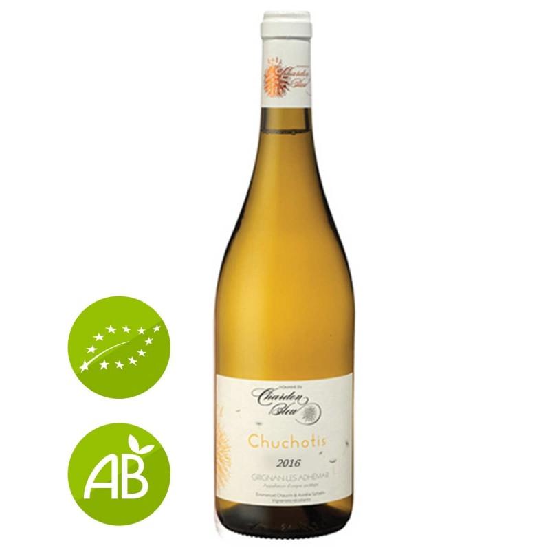 Blanc bio Domaine du Chardon Bleu Grignan-les-Adhémar Chuchotis 2016