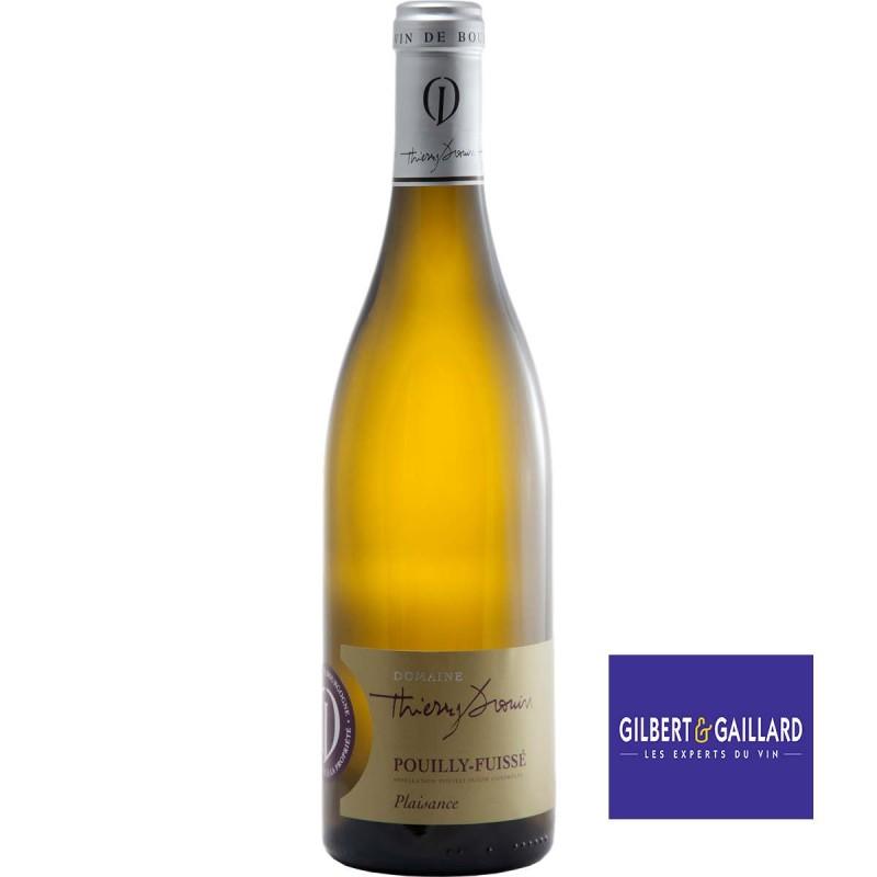 Vin blanc Pouilly-Fuissé Domaine Thierry DROUIN cuvée Plaisance 2016
