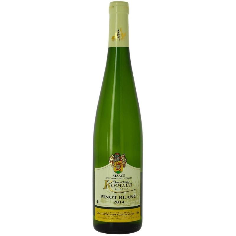 Vin blanc Alsace Pinot blanc Domaine KOEHLER et fils 2014