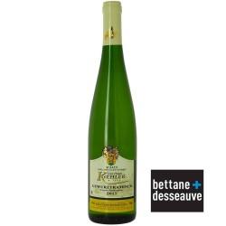 Vin blanc Gewurztraminer Domaine KOEHLER cuvée particulière 2015