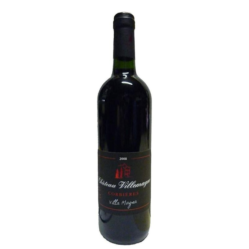 Vin rouge Corbières Château VILLEMAGNE Villa Magna 2008