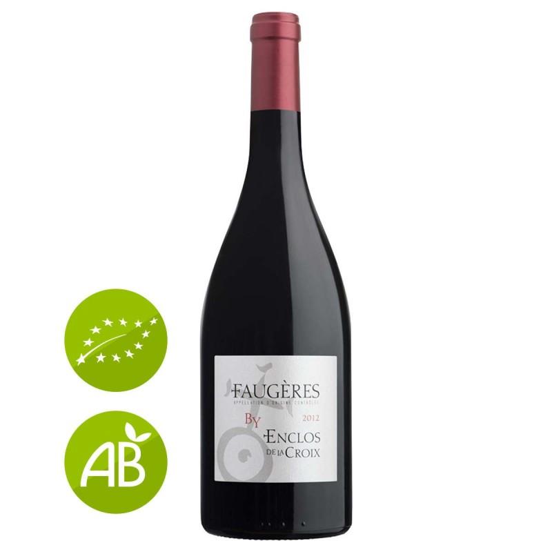 Vin rouge bio Faugères Domaine Enclos de la croix 2012