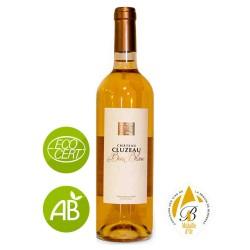 Vin blanc Monbazillac Château CLUZEAU Le bois blanc 2014