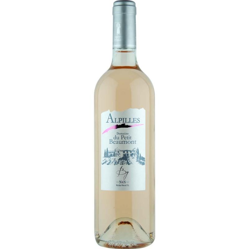 Vin rosé Alpilles NICOLAS père et fils cuvée Le petit Beaumont 2016