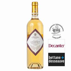 Vin blanc Jurançon Domaine du CINQUAU cuvée l'esprit 2012