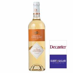Vin blanc Jurançon Domaine du Cinquau cuvée Le Fruit 2015