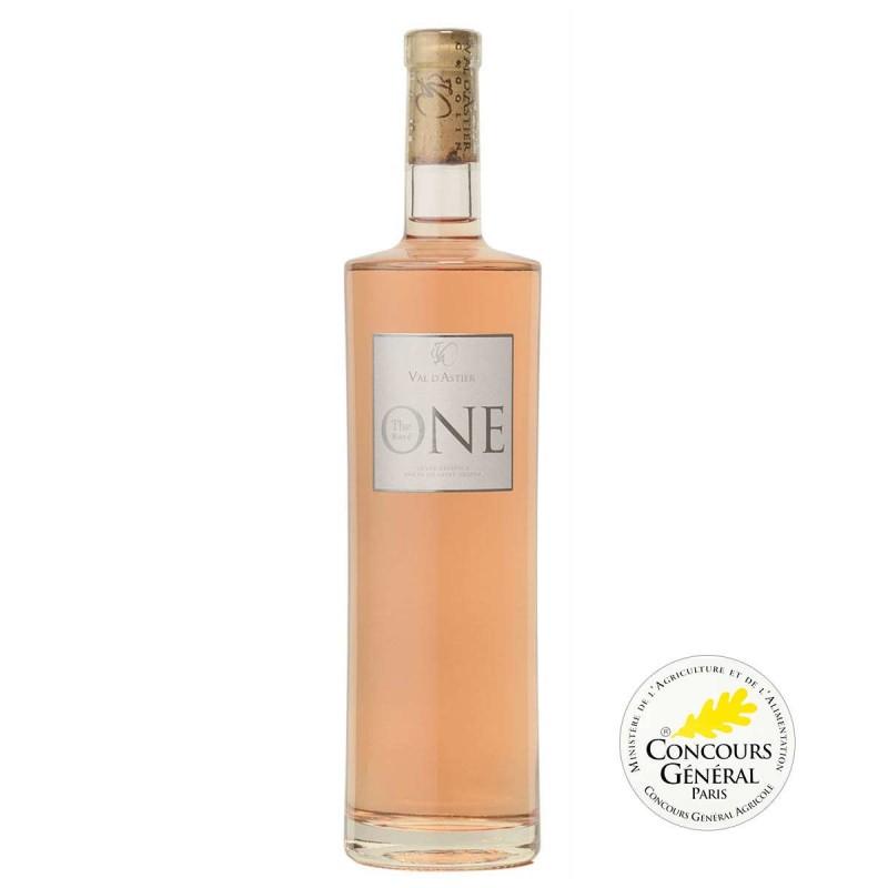 Vin rosé Côtes de Provence Domaine Val d'Astier The One Prestige 2015
